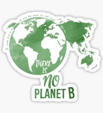 There Is No Planet B - Green Sticker