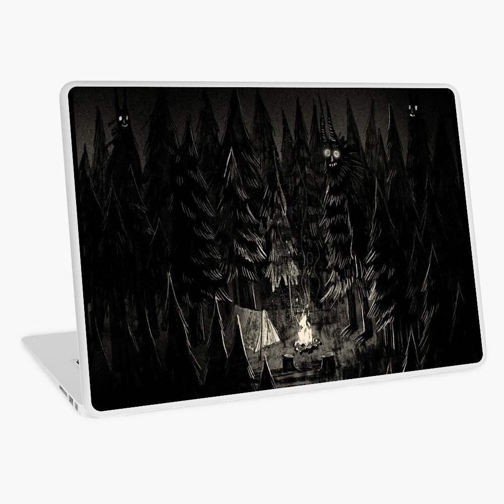 Der Wald ist lebendig Laptop Folie