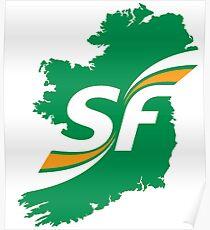 Sinn Fein Logo Poster