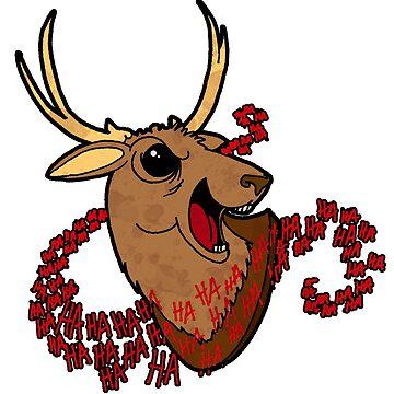 Evil Dead 2 - Taxidermy deer by MistyFigs
