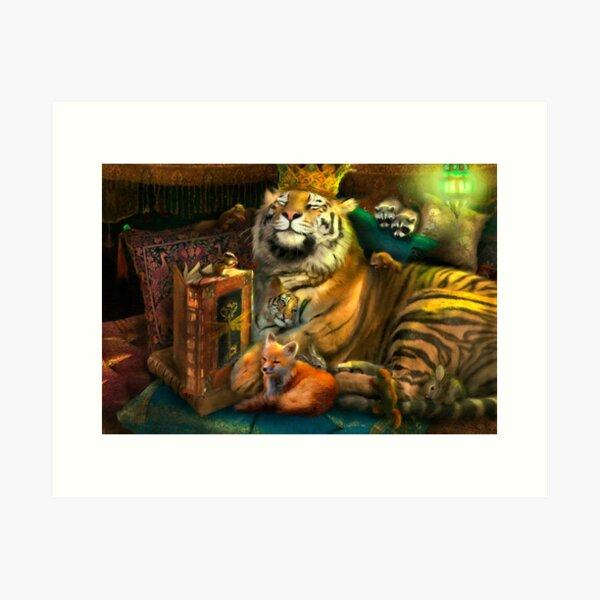 The Storyteller Art Print