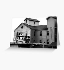 Lehi Roller Mills Greeting Card