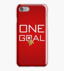 One Goal iPhone Case/Skin