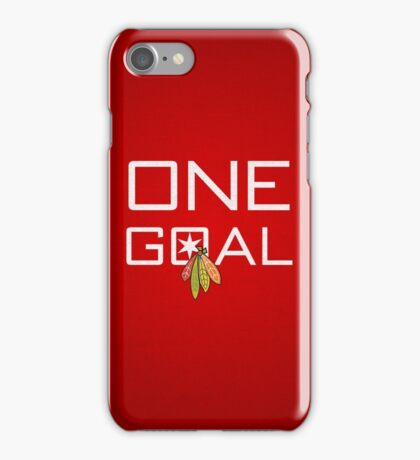 One Goal iPhone Case/Skin