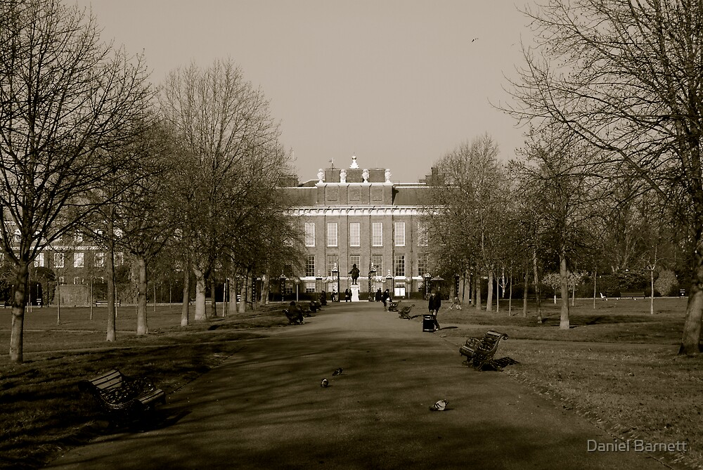 Kensington Palace- Hyde Park, London by Daniel Barnett