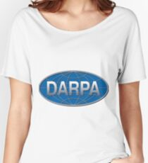 Defense Advanced Research Projects Agency (DARPA) Logo Women's Relaxed Fit T-Shirt