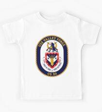 USS Valley Forge (CG-50) Crest Kids Tee