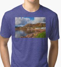 Shieldaig at Loch Carron Tri-blend T-Shirt