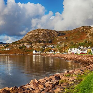 Shieldaig at Loch Carron by dianecmcac