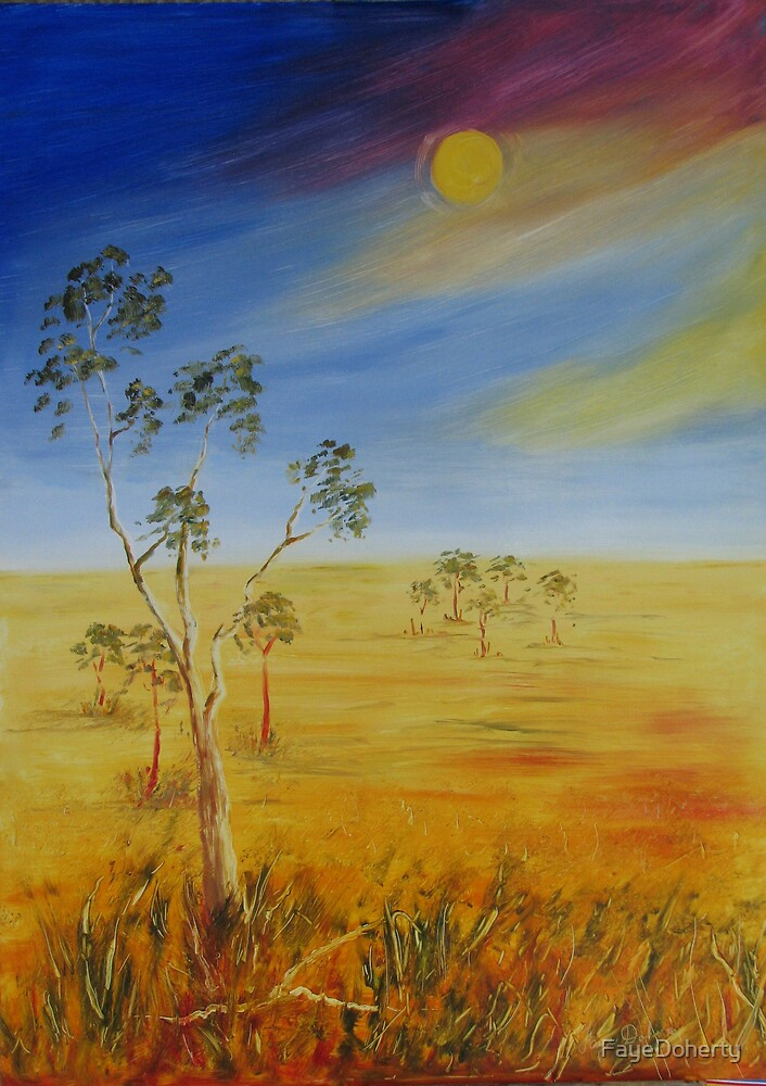 Sundrenched land by FayeDoherty