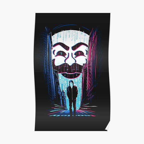 Monsieur Robot Poster