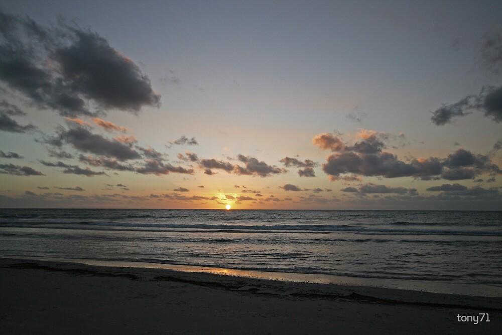 Sunset At Semaphore by tony71