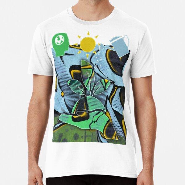 GRAFFITI PLANTS ECO Premium T-Shirt