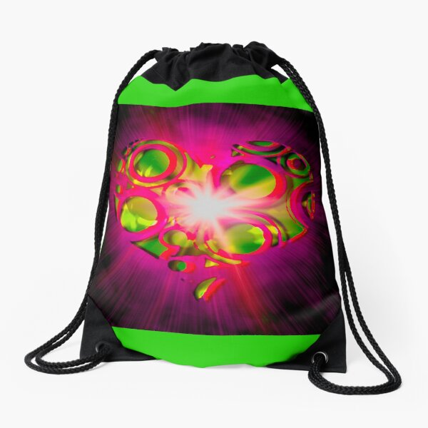 My Boho Love Drawstring Bag
