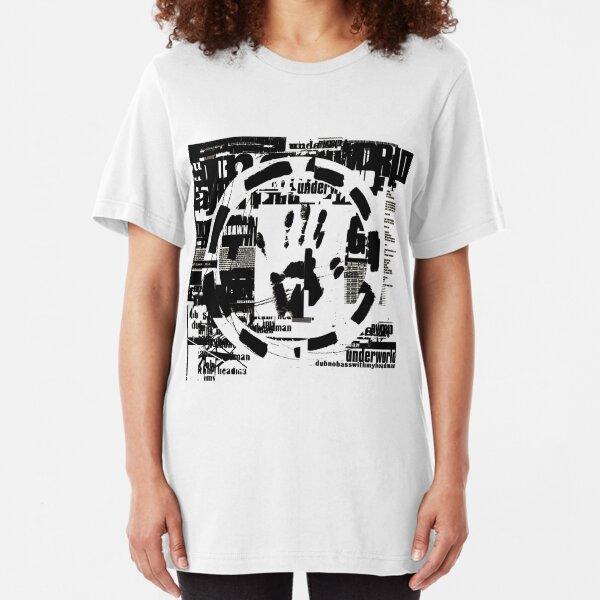 dubnobasswithmyheadman Slim Fit T-Shirt