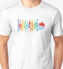 Retro Cupcakes - on lights Unisex T-Shirt