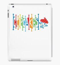 Retro Cupcakes - on lights iPad Case/Skin