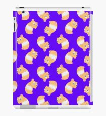 Honey Hamster Violet iPad Case/Skin