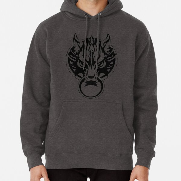 Final Fantasy Fenrir Wolf Pullover Hoodie