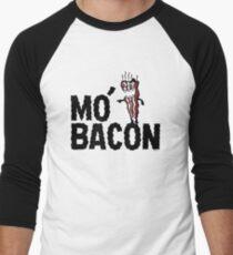 MO' BACON on lights Men's Baseball ¾ T-Shirt