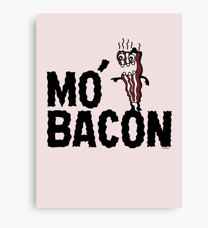 MO' BACON on lights Canvas Print