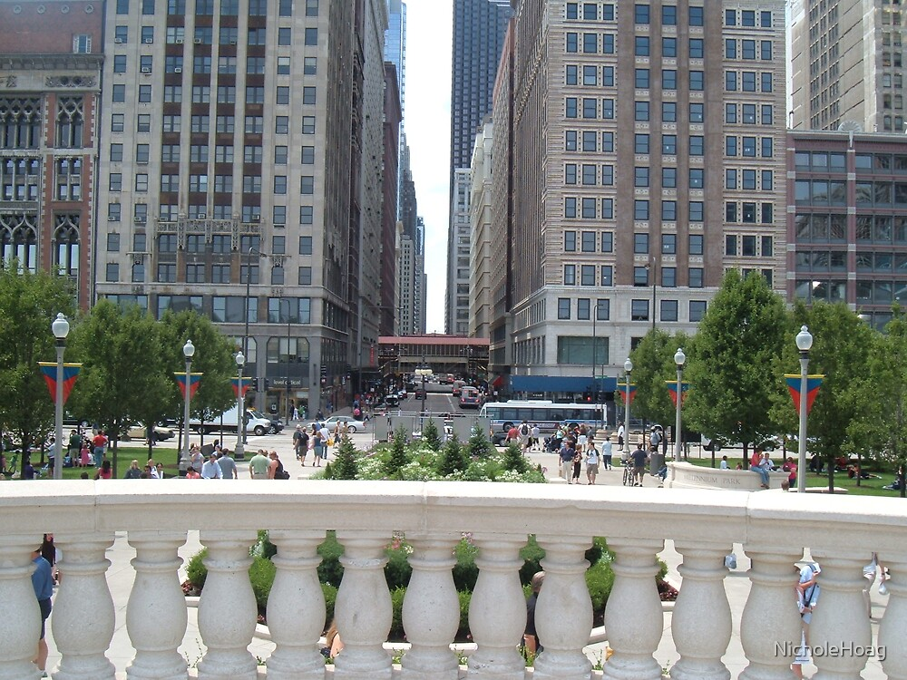Down Town Chicago by NicholeHoag