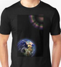 Earth Globe Space Unisex T-Shirt