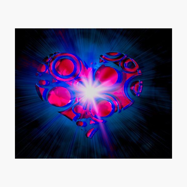 My Spiritual Love  Photographic Print