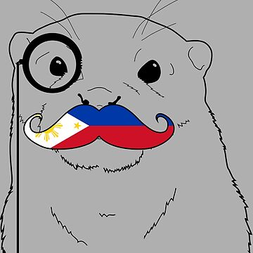 Mustache Flag Philippines by otterglot