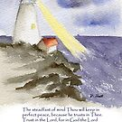 Peace, Isaiah 26:3-4 by Diane Hall