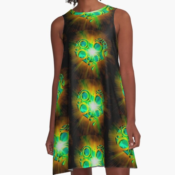 Good Karma Love A-Line Dress