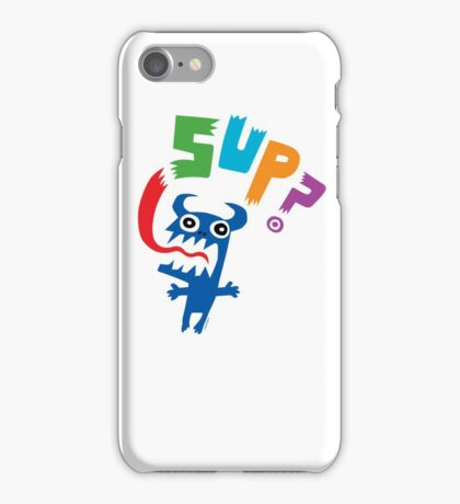 Sup? light colors iPhone Case/Skin