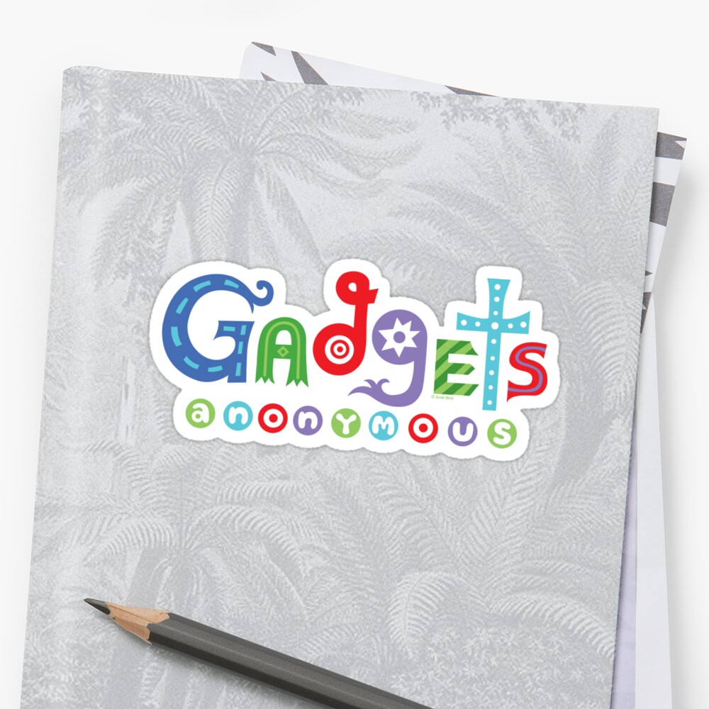 I need gadgets anonymous - darks by Andi Bird
