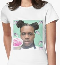 Chief Keef Lean Cups Sosa Purple Sizzurp Syrup Women's Fitted T-Shirt