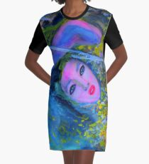 RUSALKA Graphic T-Shirt Dress