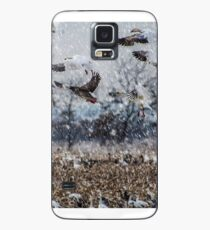 Double Snowstorm Case/Skin for Samsung Galaxy