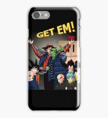 Method man get em mash up with dragonball iPhone Case/Skin