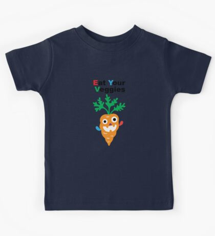 Eat your Veggies - carrots   Kids Clothes