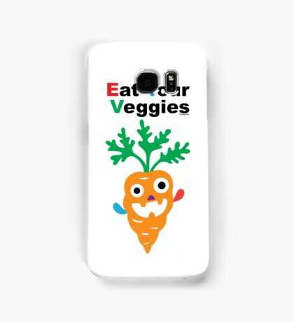Eat your Veggies - carrots   Samsung Galaxy Case/Skin