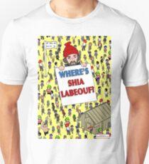 Shia labeouf vs 4chan Unisex T-Shirt