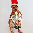 Fröhliche Weihnachten! Weihnachtskarten-Serie von Evita