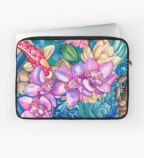 Orchid Splash Laptop Sleeve