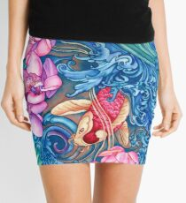 Orchid Splash Mini Skirt