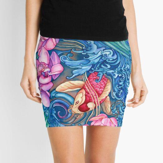 Orchid Splash Mini Skirt