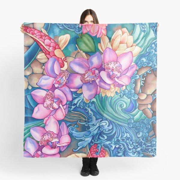 Orchid Splash Scarf