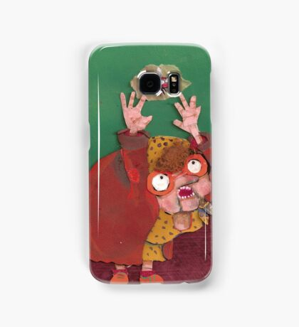 there was an old lady Samsung Galaxy Case/Skin