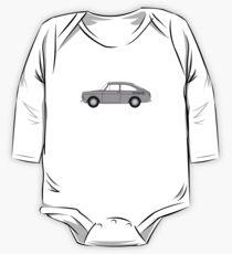VW Type 3 Grey One Piece - Long Sleeve