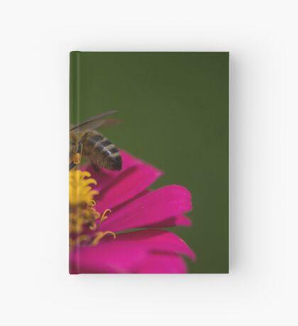 Zinnia Bee Hardcover Journal