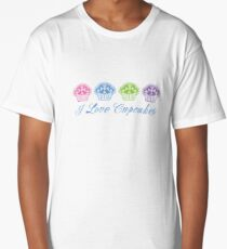 I love cupcakes  Long T-Shirt