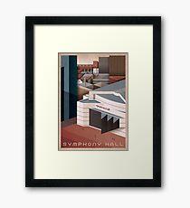 Birmingham Symphony Hall Framed Print